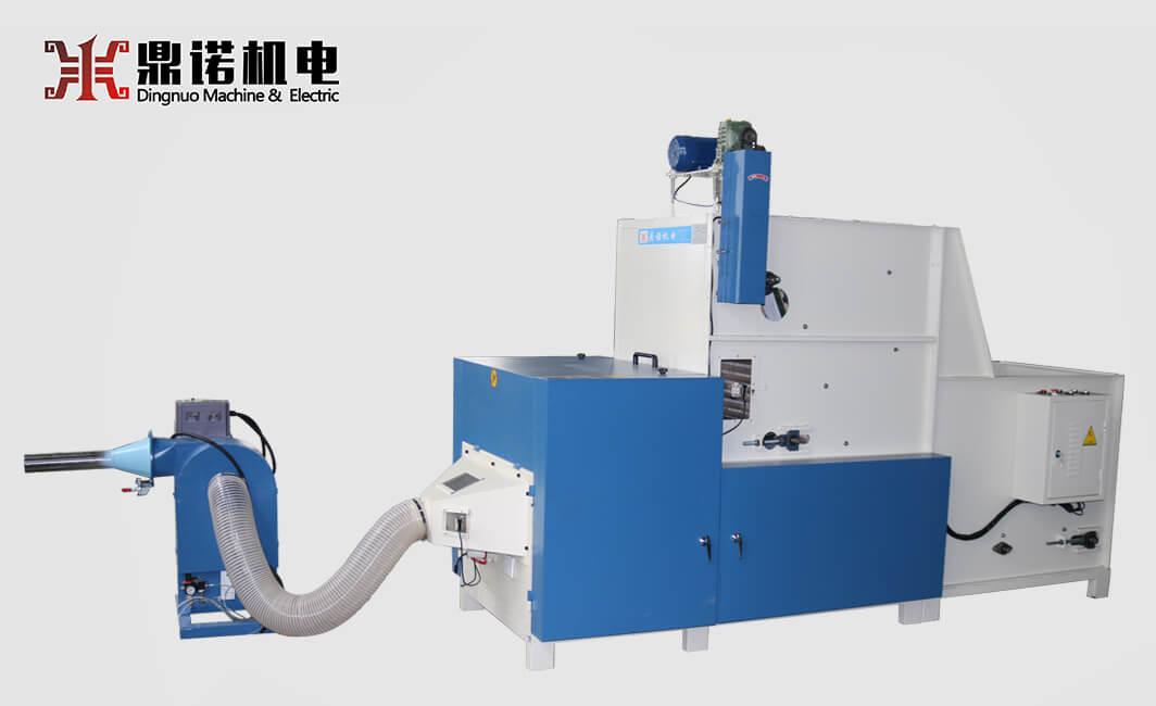 DN-SM-KS-500半自动充装生产线正面图