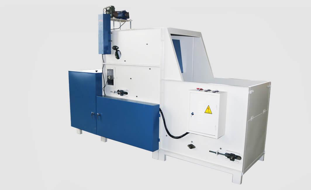 DN-SM-KS-500半自动充装生产线侧面图