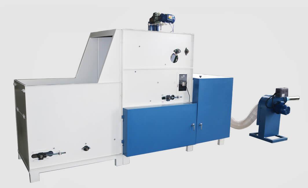 DN-SM-KS-500半自动充装生产线背面图
