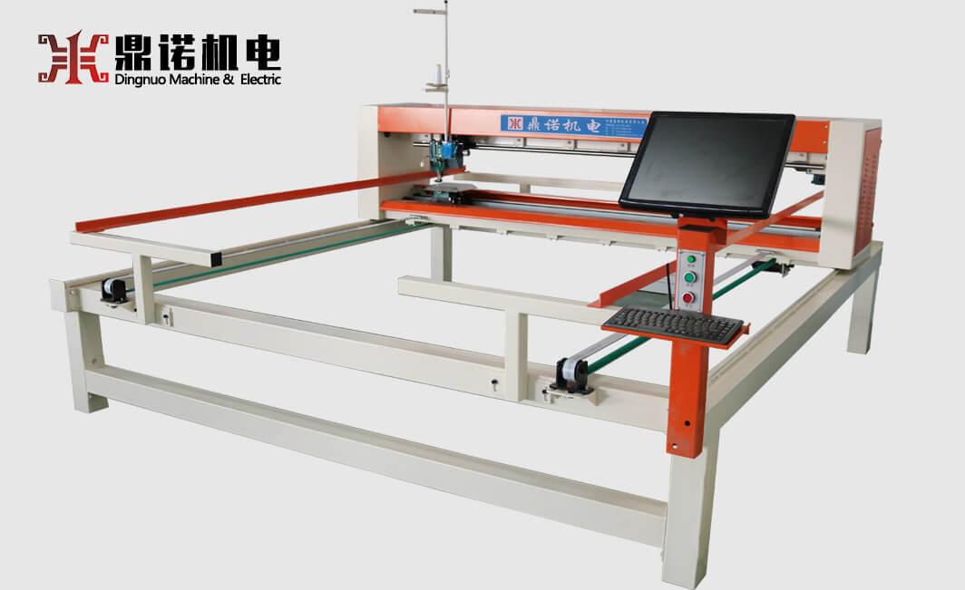 DN-5B-1WF全移动电脑单针绗缝机侧面图