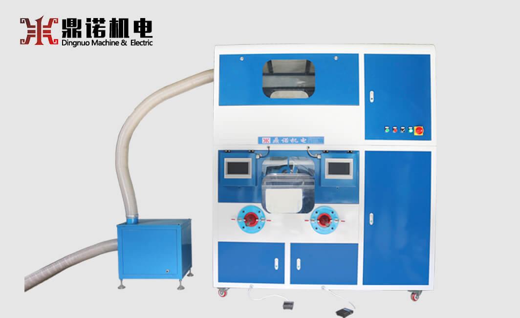 DN-CM2100-2两头流量充绒充棉一体机正面图