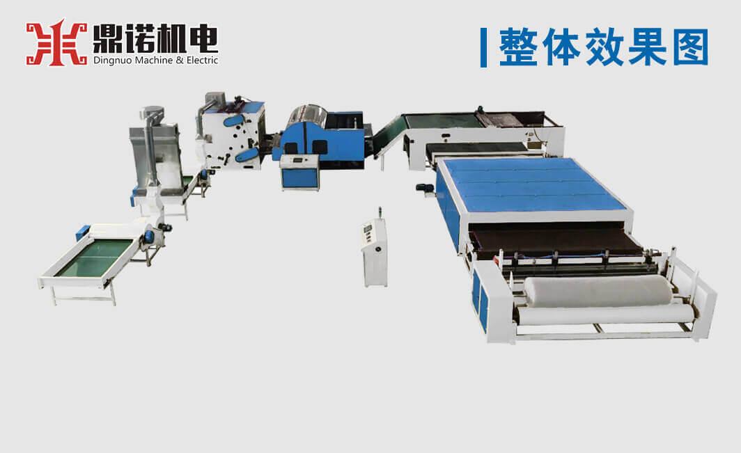 硬质棉生产线