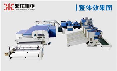 仿丝棉生产线