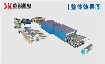 喷胶棉生产线