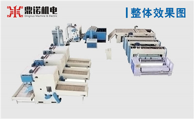 针刺棉生产线