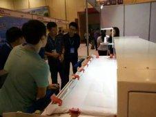 鼎诺新型绗缝机在青岛国际会展中心展出