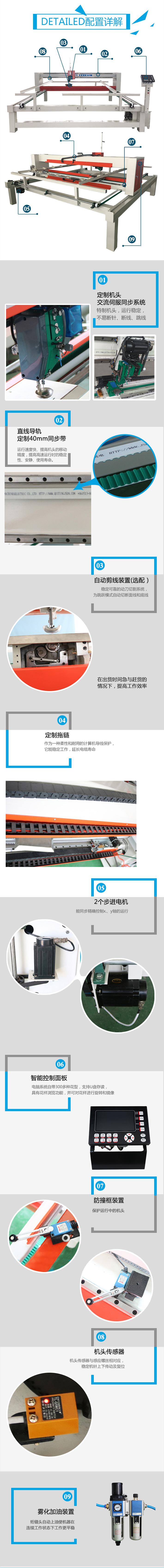 dn-5-s绗缝机配置图