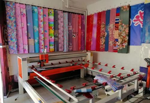 鼎诺绗缝机客户门店展示图