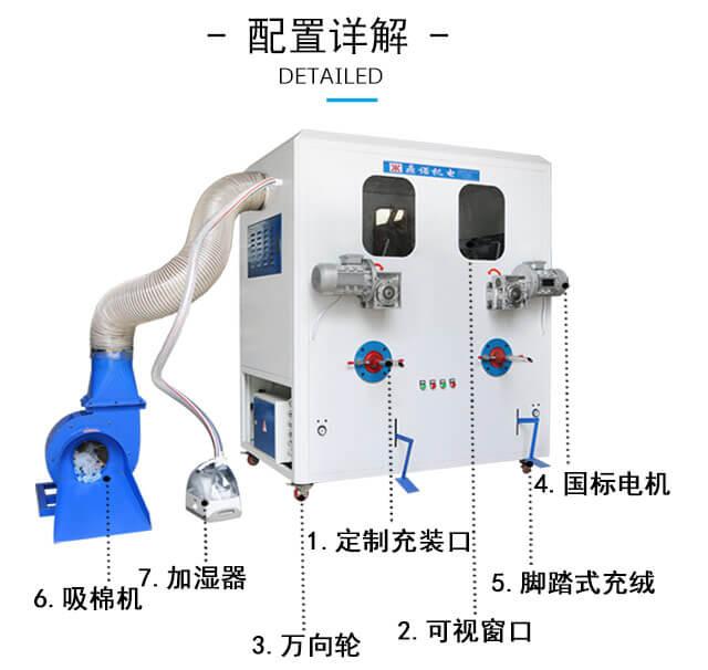 DN-CM-2两头充棉机产品细节2