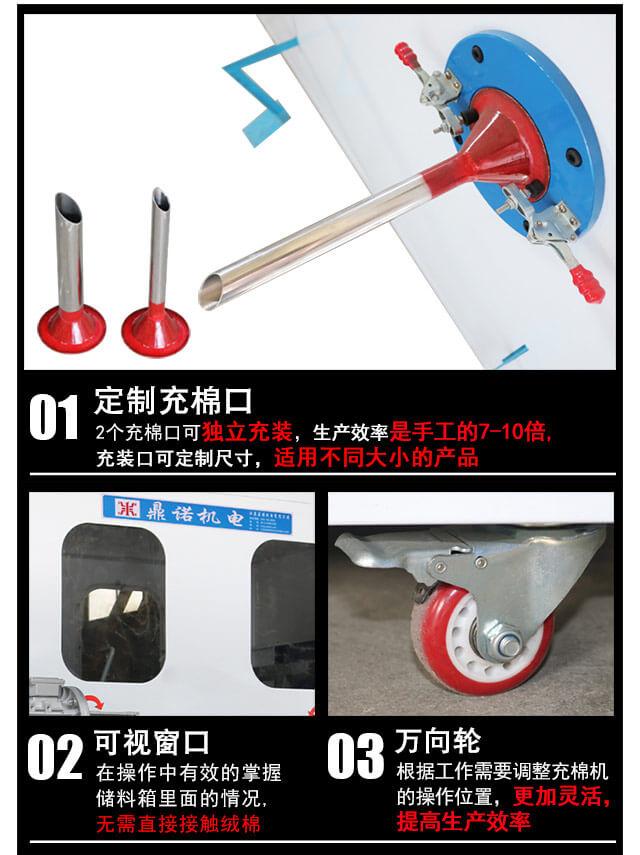 DN-CM-2两头充棉机产品细节3