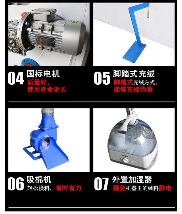 DN-CM-2两头充棉机产品细节4