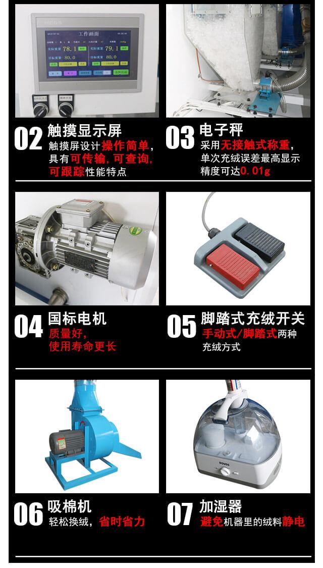 DN-CM3100-2四称两充充棉机产品细节3