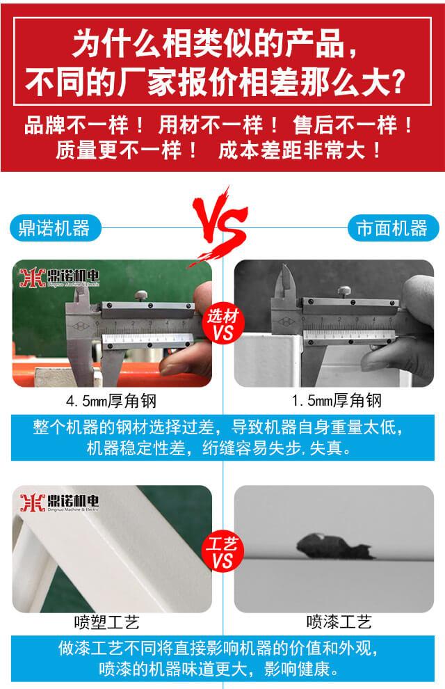 DN-6全自动电脑单针绗缝机产品说明2