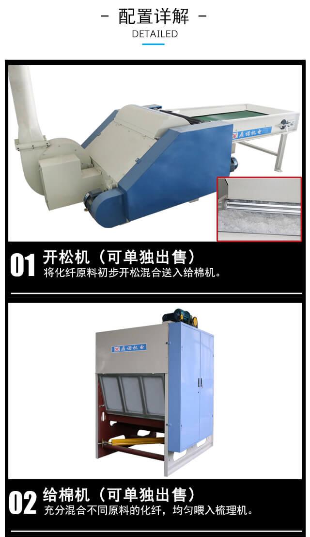 N95/KN95口罩热风棉生产线产品细节2