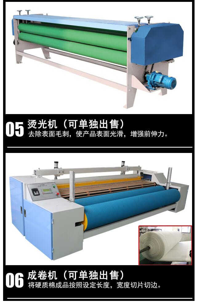 N95/KN95口罩热风棉生产线产品细节4