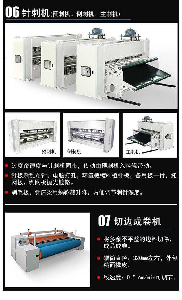 针刺棉生产线产品细节4