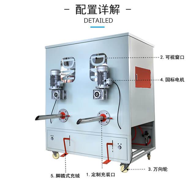 DN-CM-4四头充棉机产品细节2